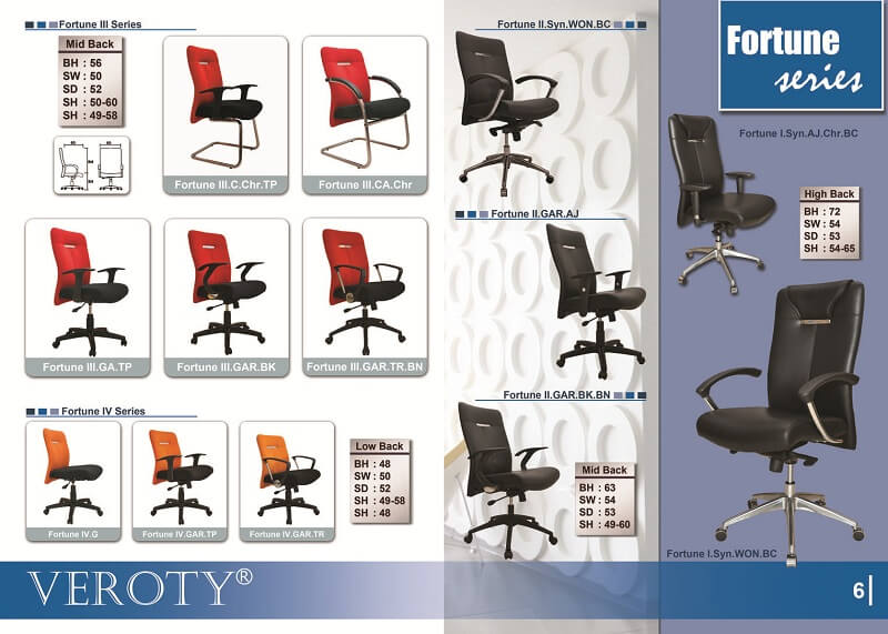 Kursi Kantor VEROTY Fortune Series