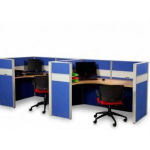 Partisi Kantor Modera 6.2 WS 3 Staff