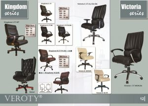 Kursi Kantor VEROTY Kingdom Victoria Series