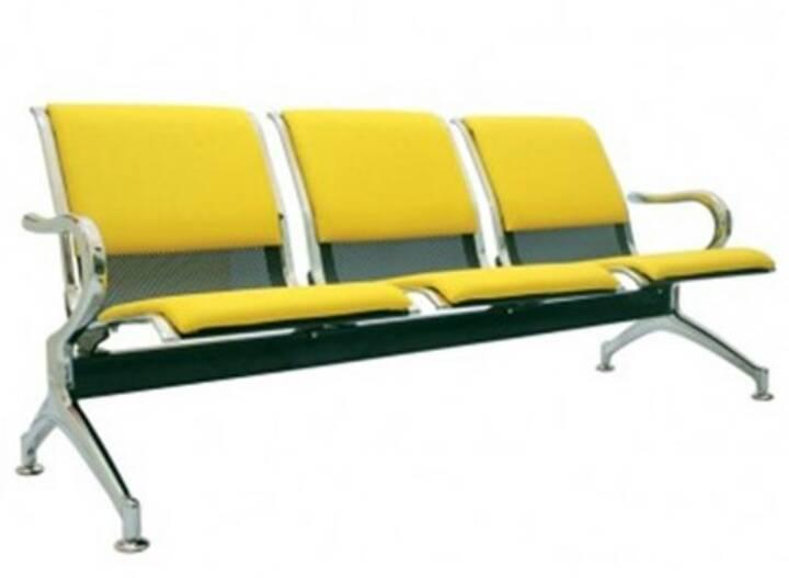 Kursi Tunggu Bandara 3 Dudukan