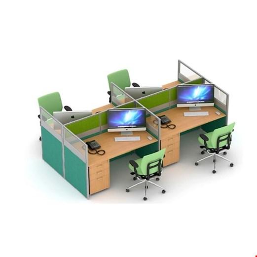 Partisi kantor Uno Slim 2