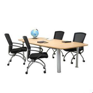 Meja meeting kantor Aditech SR 2402 (240cm)