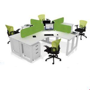 Partisi kantor Donati WS 4 Seat Green