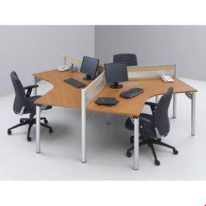 Partisi kantor Modera 1.1 WS 3 Staff