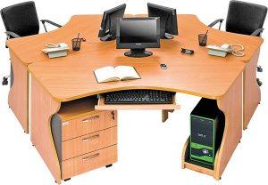 Meja Kantor Arkadia Rola B