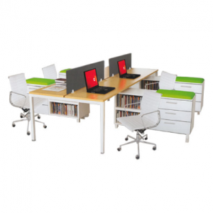 PARTISI KANTOR DONATI EXECUTIVE FREESTANDING DO F I 4P