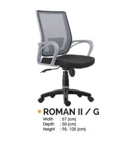 Kursi Kantor Ichiko Roman II Grey