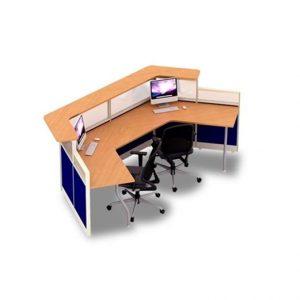 Partisi kantor 2 staff Uno URS 3111