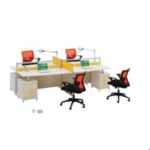 Partisi kantor Donati T 03