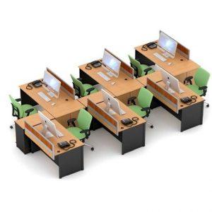 Partisi kantor Uno Slim 5
