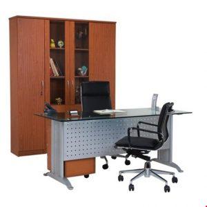 Meja Kantor utama Aditech MG 02 (180cm) – Tanpa Laci