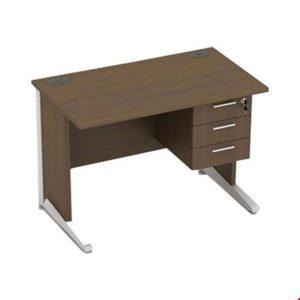 Meja Kantor utama Modera AOD 6012 (120cm) + 3 Laci gantung
