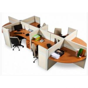 Partisi Kantor Modera 6.4 WS 4 Staff