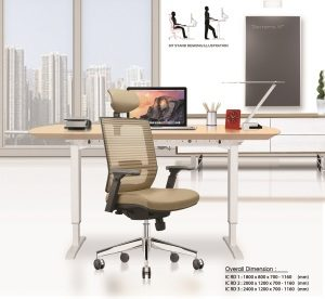 Meja Kantor Ichiko IC RD-1